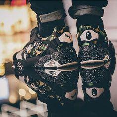 Puma X Bape. #Puma #Bape #Sneakers #Sneakerhead #Fashion #Style #Shoes #Scarpastudios