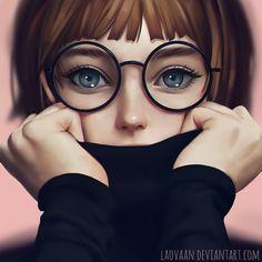 Glasses by Laovaan.deviantart.com on @DeviantArt