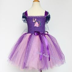 db04a9642e61 Twilight Sparkle Tutu Dress - My Little Pony Twilight Sparkle - Birthday  Party Dress - Girls MLP Fancy Dress Costume - Twilight Costume. Minnie  MouseŠaty ...