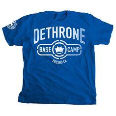 Dethrone Royalty Base Camp Fresno T-Shirt Training Pads, Camping, Base, Mens Tops, Royalty, T Shirt, Gallery, Ideas, Fashion
