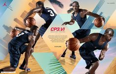 Chris Paul is the best point guard in the game. His new shoe, the Jordan CP3.VI, gives him the traction control to cut through everything—through any