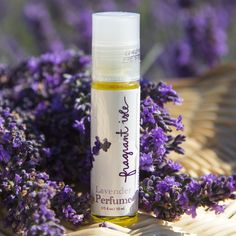 Lavender Perfume - Just the right touch of lavender in this beautiful scent #lavender #perfume