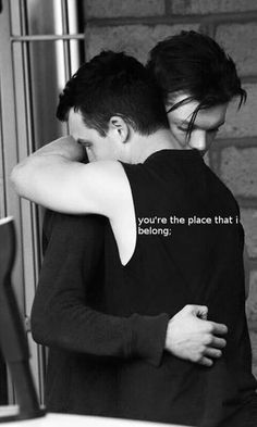This is so perfect for them; they fight and try to pretend they don't care, but always find their way back together, because that is where they were always meant to be!