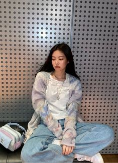 Blackpink Fashion, Korean Fashion, Fashion Outfits, Kpop Outfits, Casual Outfits, Cute Outfits, Kim Jennie, Looks Instagram, Facon