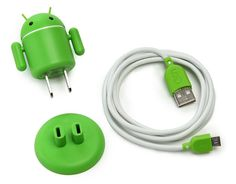 Andriod USB devise cahrger. SO cute! Love this little guy!
