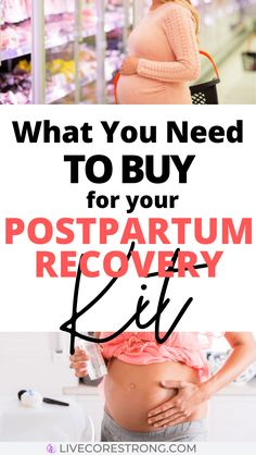 What You Need To Buy For Your Postpartum Recovery Kit - Live Core Strong Postpartum Hair Loss, Postpartum Body, Postpartum Care, Postpartum Recovery, Postpartum Depression, Best Postpartum Pads, Getting Ready For Baby, Preparing For Baby, Pregnancy Labor