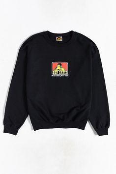 Ben Davis Logo Crew-Neck Sweatshirt