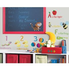 RoomMates RMK1185SCS Education Station Peel  Stick Wall Decals *** Read more  at the image link.Note:It is affiliate link to Amazon.