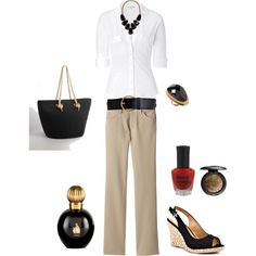 OOTD-Cool Summer Classics, created by chelece