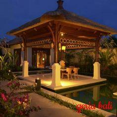 Pat Mase Villas at Jimbaran by Swiss-Belhotel > Jimbaran > Bali Hotel and Bali Villa Jimbaran Bali, Outside Living, Outdoor Living, Zen, Small Pool Design, Cozy Nook, Amazing Spaces, Cool Pools, Pool Designs
