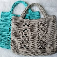 The Deco Tote PATTERN crochet pattern tote bag beach bag project bag crochet bag tote one skein Crochet Purse Patterns, Bag Crochet, Crochet Shell Stitch, Crochet Handbags, Tote Pattern, Crochet Purses, Crochet Stitches, Bag Patterns, Crochet Ideas