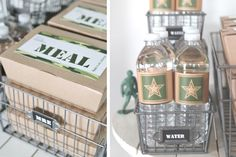 call of duty inspired military party | homespun hostess | #armyparty