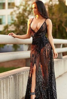 A body suit, or black undergarment has always been the trick to making the dress look sexier; And, you are still covered; As, much as you want..