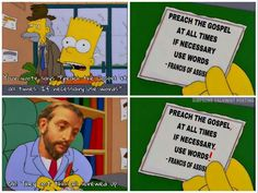 Francis of Assisi | Simpsons meme