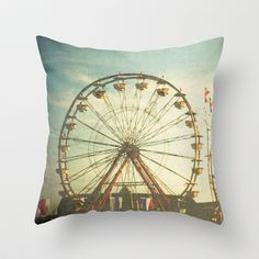 Carnival - Color Throw Pillow by Olivia Joy StClaire - $20.00