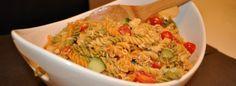 Chicken Flavored Vegetable Pasta Salad Vegetable Pasta Salads, Chicken Flavors, My Recipes, Guacamole, Vegetables, Ethnic Recipes, Food, Veggies, Vegetable Recipes