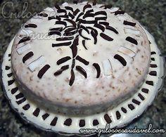 Bolo de Coco e Chocolate » Receitas Saudáveis, Tortas e Bolos » Guloso e Saudável