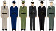 My idea for CIC crew uniforms aboard a Battlestar. Note: These are a mix of Canon and non-canon concepts Original Uniform base by: [link] BSG Bridge Crew Uniforms Combat Gear, Type I, Royal Navy, Types Of Collars, Deviantart, Battlestar Galactica, Model, Deck, Fashion