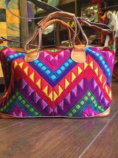 Bolsa Crochet. Origen Guatemala.