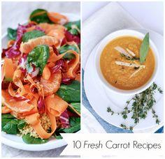 Seasonal Spring Eating: 10 Fresh Carrot Recipes