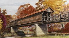 covered bridges | Signed Open Edition Prints-$35.00 each