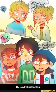 Piper Percy and Nico meet Magnus..Wait ..Nico's face implies sumthing ...can u guess it ?..