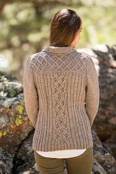 Ravelry: Saddleback Cardigan pattern by Jennifer Hagan