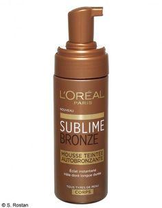 Le meilleur autobronzant : Mousse Teintée Sublime Bronze, L'Oréal Paris - Les 12 meilleurs produits internationaux - ELLE.fr
