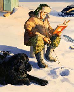 Patience and reading / Paciencia y lectura (ilustración de Chad Gowey)
