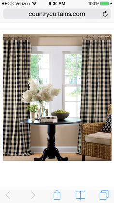Need these for the den! Countrycurtains.com