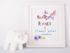 printable art, butterfly print,girls room printable, rainbow art,kids room art, butterfly nursery decor,nursery wall art, playroom prints