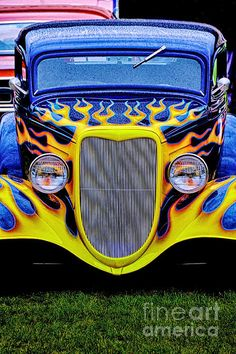 Hot Rod 1 Photograph by Bob Stone - Hot Rod 1 Fine Art Prints and Posters for Sale