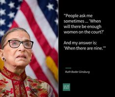 23 Inspiring Ruth Bader Ginsburg Quotes - perfect for Women's History Month!