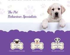 """Check out new work on my @Behance portfolio: """"Pet Specialists"""" http://on.be.net/1K3D7mU"""