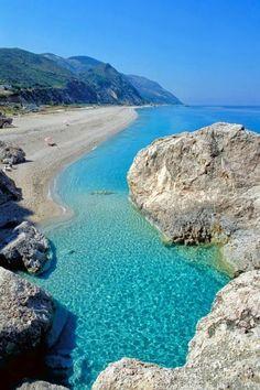 Kathisma beach, Lefkada, Greece.
