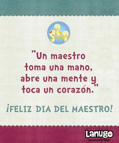 Happy Teacher Appreciation Day!!! MIL GRACIAS PROFESORES!