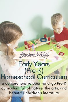 Play Based Preschool Homeschool