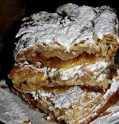 Greek Sweets, Greek Desserts, Greek Recipes, Easy Desserts, Delicious Desserts, Easy Sweets, Sweets Recipes, Cooking Recipes, Low Calorie Cake
