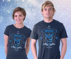 Cool T-Shirt for Women and Men Let's Go! Mystic