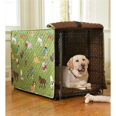 Found it at Wayfair - Doggone Good Time Dog Crate Cover