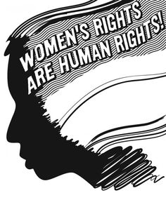 "Redefining Body Image - ""women's rights are human rights"" - feminist quotes"