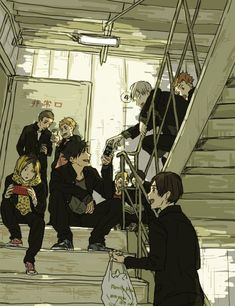 Find images and videos about anime, manga and haikyuu on We Heart It - the app to get lost in what you love. Manga Anime, Manga Haikyuu, Comic Anime, Kuroo Tetsurou, Haikyuu Karasuno, Haikyuu Funny, Haikyuu Fanart, Fanarts Anime, Kageyama