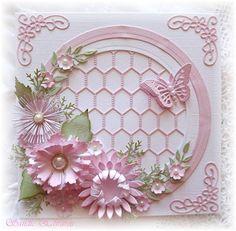Cheery Lynn Designs Blog: Circle of Flowers Card