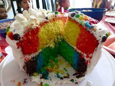 Rainbow Birthday Cake!