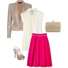 Evening Outing, created by sjclark98 on Polyvore