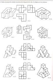 Isometric Drawing Exercises, Isometric Art, Drawing Techniques, Drawing Tools, Bilder Download, Orthographic Drawing, Geometric Construction, Interesting Drawings, Fractal Geometry