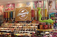 Sweets from Heaven - Sweet Store Sweets From Heaven, Interior Design, Store, Crafts, Nest Design, Manualidades, Home Interior Design, Interior Designing, Larger