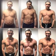 45-year-old Ben Jackson from Warrington, England uncovered the secret for his amazing body transformation in just 12 weeks. Men's weight loss before and after photo.