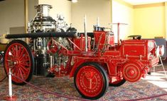 1913 Christie Front Drive Ahrens-Fox Fire Engine
