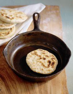 Cast-Iron Skillet Pita Bread Recipe | Vegetarian Times